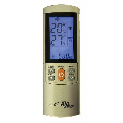 AIR PLUS Mando a distancia universal para aire acondicionado. 2000 codigos