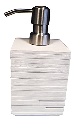 Ridder 22150501 Brick - Dispensador de jabón líquido, color blanco