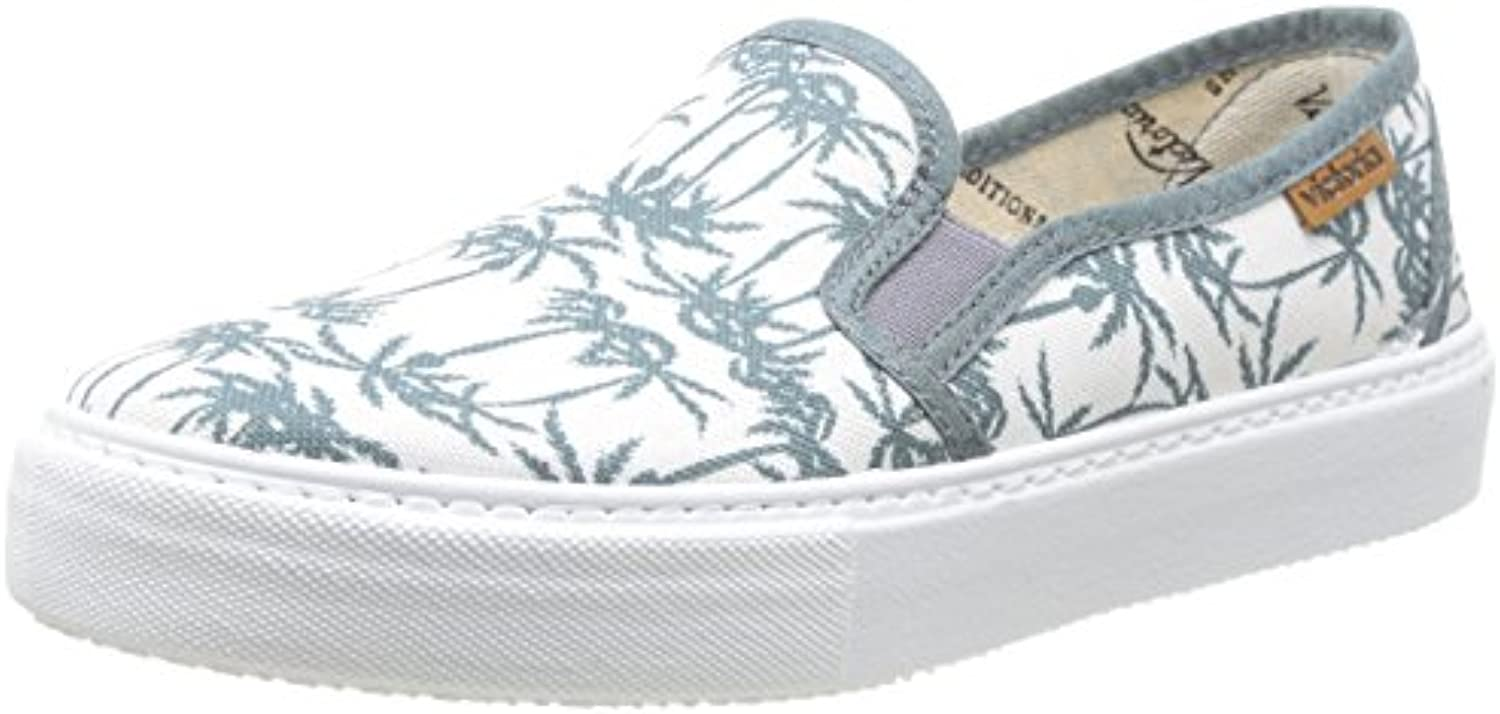 victoria Slip on Estamp Tropicales  Unisex Erwachsene High Top Sneaker