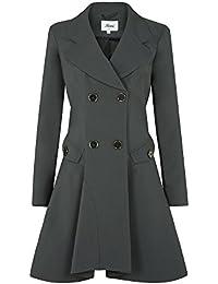 Doppelreihig SS13 Mantel Frühling Damen Mantel Ausgestellter 0nk8OwPX