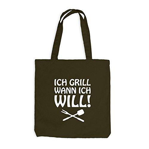 Sacchetto Di Iuta - I Grill Quando Voglio! - Bbq Bbq Olive