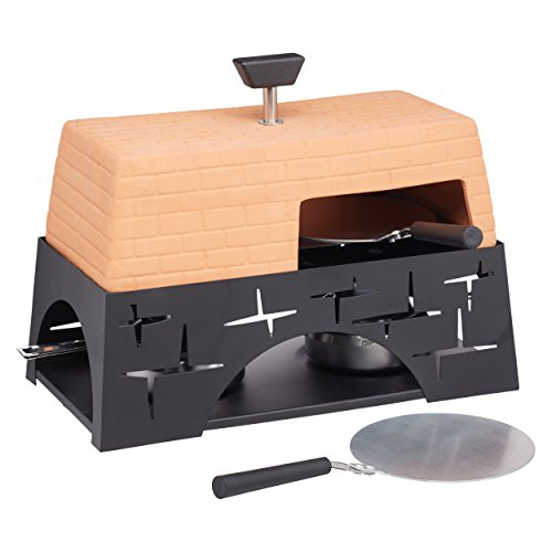 Master Class Terracotta Artesa Mini Tabletop Pizza Oven, Multi-Colour