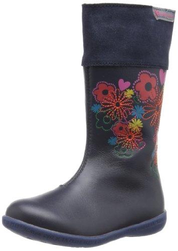 Agatha Ruiz de la Prada Gabrielle, Boots fille Bleu (A Azul Marino Napa)