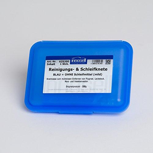 Innoclean Reinigungsknete Schleifknete Das Original Blau Mild Ohne Schleifmittel 200 g