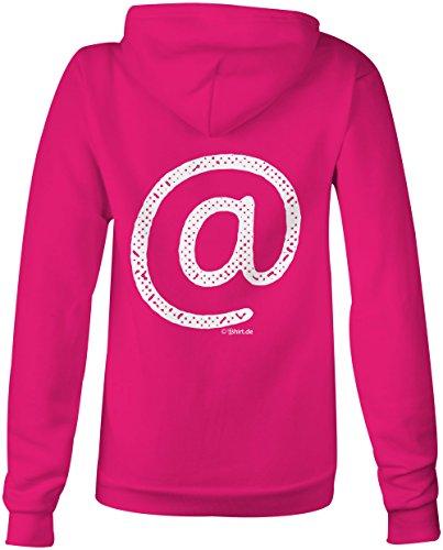 Email Zeichen ★ Confortable veste pour femmes ★ imprimé de haute qualité et slogan amusant ★ Le cadeau parfait en toute occasion pink