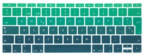 Silicona Skin Española Cubierta teclado MacBook Pro