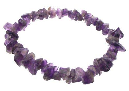 amethyst-gemstone-chip-bracelet