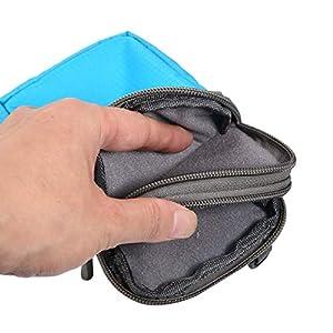 41h3CQpuEaL. SS300  - Bolsa de Teléfono Celular, Bolsa de Cintura Hombre, 6.0 Pulgadas Billetero de Mujer Bolso Cruzado Bolso de Hombro…