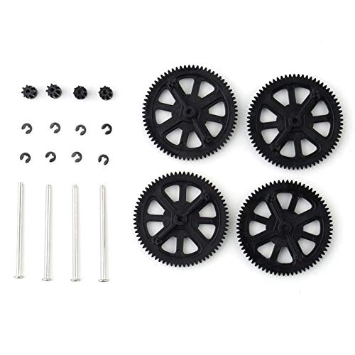 ghfcffdghrdshdfh Upgrade Motor Pinion Gear Gears&Shaft Replacement for Parrot AR Drone 1.0 2.0