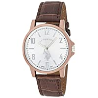 U.S. Polo Assn. Classic Men's USC50218 Analog Display Analog Quartz Brown Watch