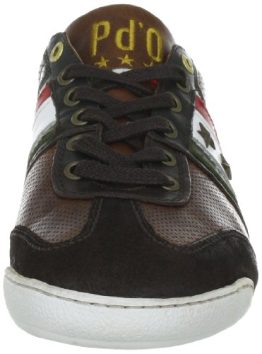 Pantofola d`Oro Ascoli Piceno Low Men4, Baskets mode homme Marron (After Dark)