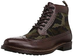 Aldo Mens Churchill Combat Boot, Dark Brown, 12 D US