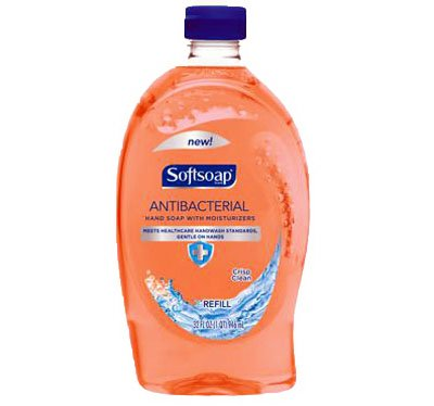 Softsoap Hand Soap, Refill, Antibacterial, with Light Moisturizers, 32 oz.