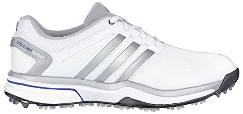 Adidas W adipower Boost Damen Schuhe - weiss/grau/violett