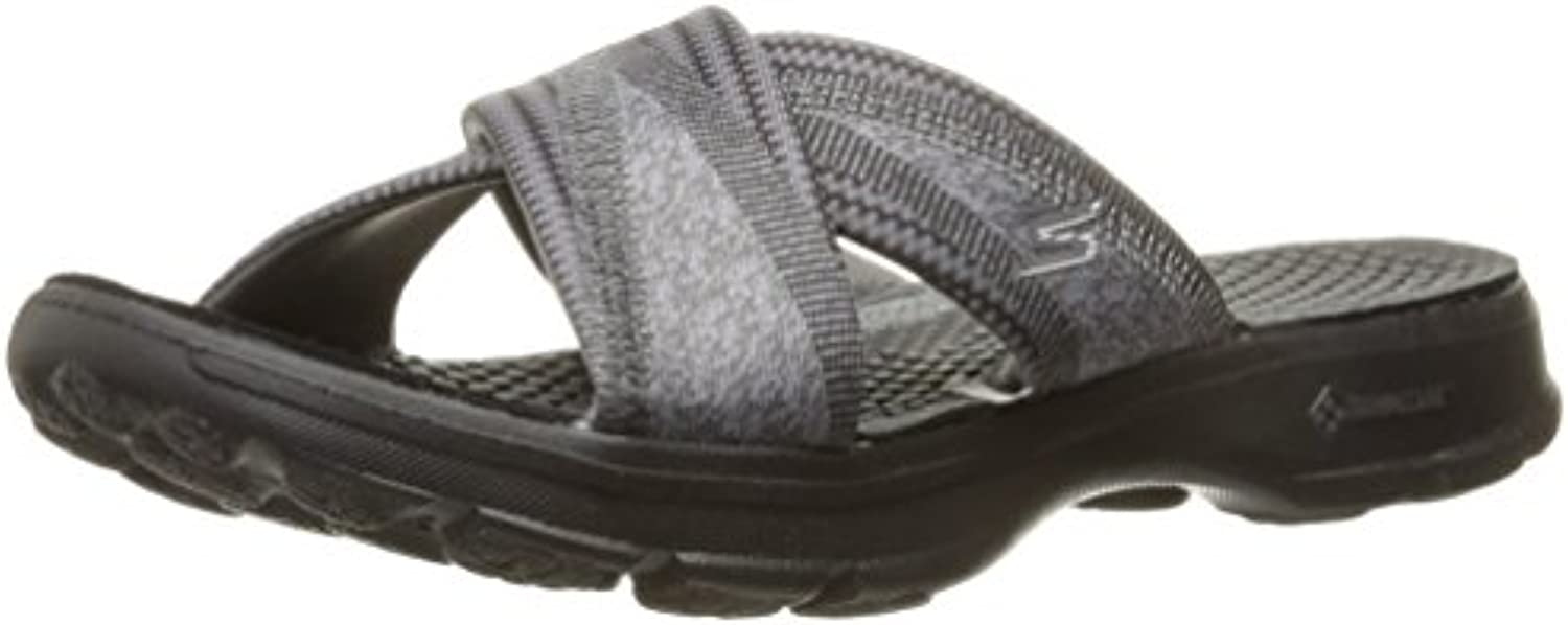 Skechers Ir A Pie Sandalias 14252 Suave Negro UK8 Black