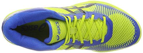 Asics Herren Volley Elite FF MT Volleyballschuhe Mehrfarbig (Energy Greendirectoire Blue Black 7743)