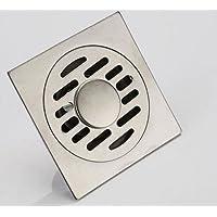 ICT Ronix 100x 100mm desagüe para suelo de ducha de acero inoxidable baño suelo desagüe ducha desagüe para canaleta para canalón Manguera Conector