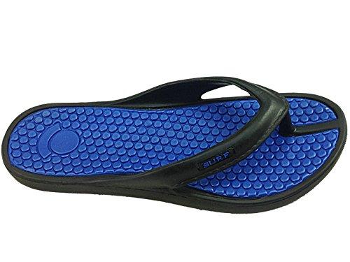 Foster Footwear - Sandali  Unisex per bambini Unisex adulti donna da ragazza' Black/Blue
