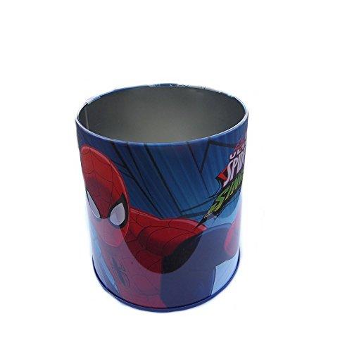 GUIZMAX Pot a Crayon en Metal Spiderman Disney
