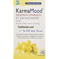Schwabe Pharma KarmaMood Maximum Strength St John's Wort Extract 425mg Tablets - Pack of 60 Tablets