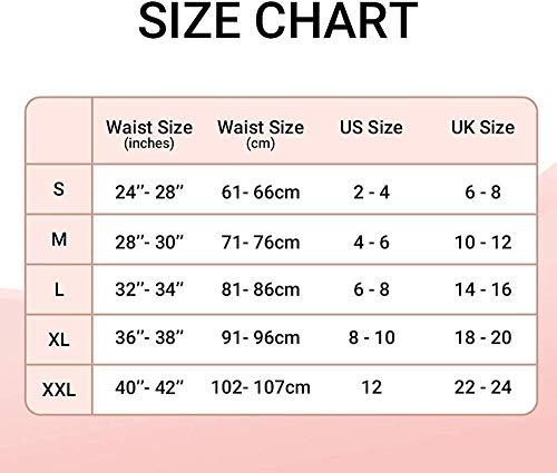 xbowo-Appeal Mesh-Strapsgürtel für Strümpfe/Dessous mit 6 verstellbaren Metallclips Strapsgürtel-Schwarz_XL - 6