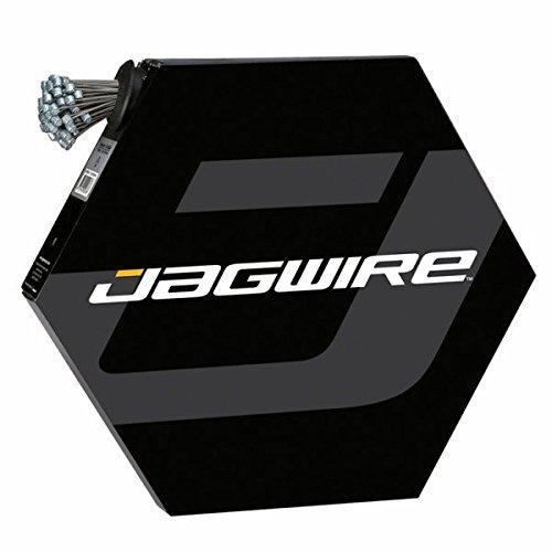 JAGWIRE   CABLE DE FRENO COMPATIBLE CON SRAM Y SHIMANO (ACERO INOXIDABLE  1 5 MM  1 7 M  100 UNIDADES)