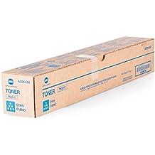 Toner originale compatibile con Konica Minolta Bizhub C 364e Konica Minolta TN321C TN-321C A33K450–Premium–Cartuccia per stampante ciano–25.000pagine