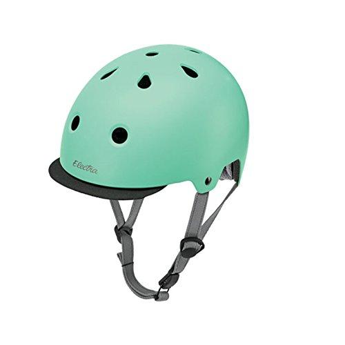 Electra Bicycle Electra Fahrrad Helm Solid Color Serie Fidlock ABS Innenpolster waschbar, EHelmetSC, Farbe Matte Mint, Größe S
