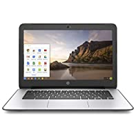 "BLACK HP CHROMEBOOK 14"" G4 INTEL CELERON N2840 2.16 GHZ 4GB RAM 16GB SSD WEBCAM CHROME OS (Renewed)"