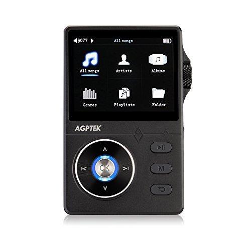 AGPTek H1- metal Hi-Fi MP3 Lettore musicale 8 GB con...