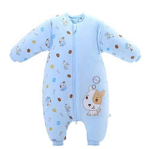 Babyschlafsack mit Füßen Warmer Winterschlafsack 3.5 Tog