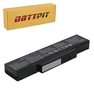 Battpit Batterie d'ordinateur Portable de Remplacement pour Medion Akoya X7811 Series (4400 mah)