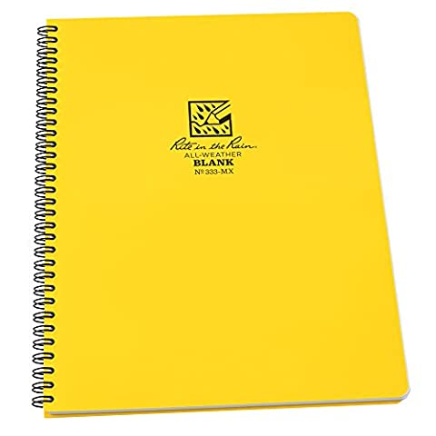 Rite in the Rain All-Weather Side-Spiral Notebook, 8 1/2