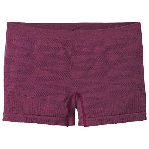 Smartwool Damen Merino Seamless Boy Boxer Kurze Unterhose Funktionsunterwäsche (Schlüpfer Boy Kurze)