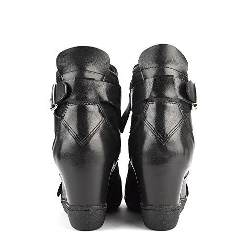 Ash Schuhe Beluga Keil Sneaker Schwarz Damen Black