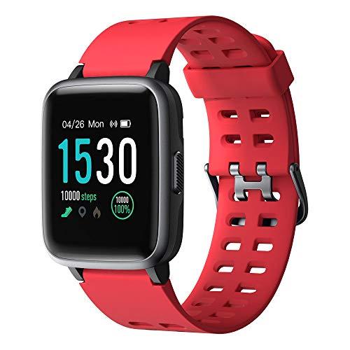 YAMAY Smartwatch, Impermeable Reloj Inteligente Cronómetro