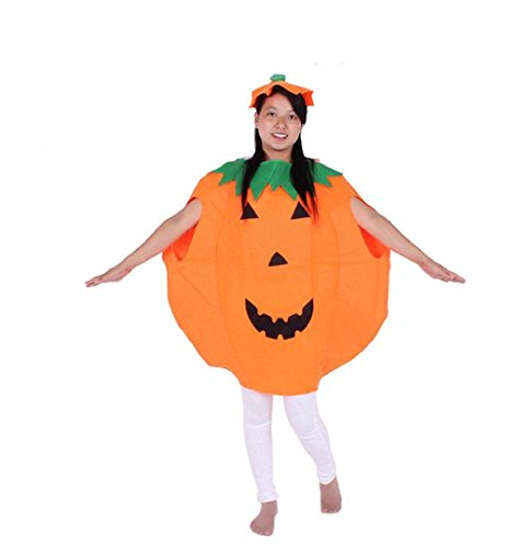 Kostüme 2017 Halloween Für Kinder (Damen Herren Halloween Kostüm Pumpkin Kürbis ZEZKT 2017 Halloween Kostüm Cosplay Christmas Karneval Party Halloween Fest Parteikleidung Kinder)