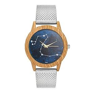 Mode Damen Uhren Analoge Quarz Silicagel Band Runde Beiläufig Armbanduhr Uhr für Freundin Groveerble
