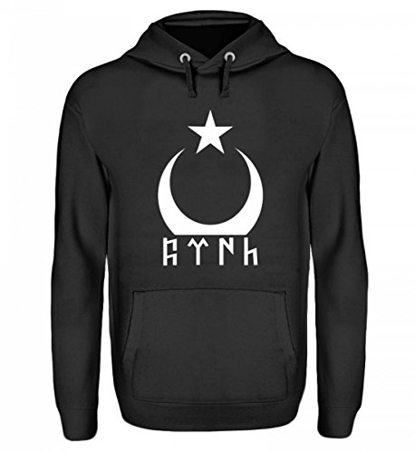 Türkei T-Shirt Göktürk Türkiye Shirt Türkische Flagge Ayyildiz Fahne Geschenk - Unisex Kapuzenpullover Hoodie