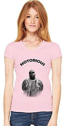 Notorious B.I.G New York Womens V-neck T-shirt XX-Large -