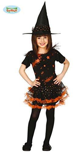 Imagen de disfraz de bruja estrellas infantil talla 10 12 años