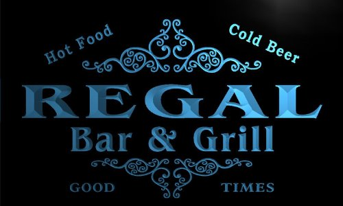 u37049-b-regal-family-name-bar-grill-home-brew-beer-neon-sign-enseigne-lumineuse