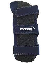 Ebonite Left Positioner - Guante de bolos, color azul, talla L