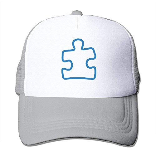 New pants Adult Autism Puzzle Awareness Trucker Hats,Unisex Mesh Caps,Snapback Baseball Cap Hat