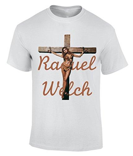 Raquel Welch T-Shirt Herren Weiß