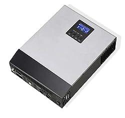 WccSolar Solar-Wechselrichter, Reine Hybrid, 1 kva 12 V, Solar-Regler 50 A, Ladegerät 20 A, alle in Einem