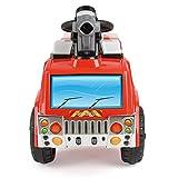Unbekannt Toyrific elektrisches Kinder-Feuerwehrauto mit Seifenblasenpistole, Lichtern und Sirenen für Unbekannt Toyrific elektrisches Kinder-Feuerwehrauto mit Seifenblasenpistole, Lichtern und Sirenen