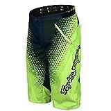 Shorts de Cyclisme pour Homme VTT Pantalon de Cyclisme Court Baggy Amples Imperméable Respirant pour Sports Shorts Légers pour VTT Shorts pour Le vélo en Plein Air Green-M