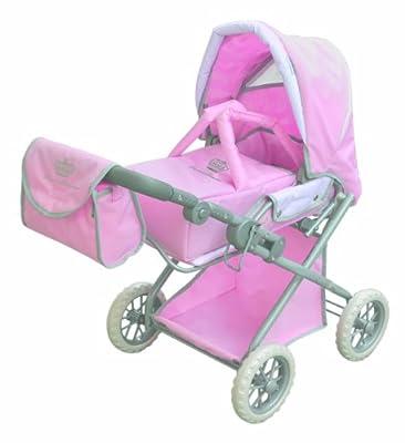 Prinzessin von Hohenzollern 85618 Princess Comfort - Cochecito de paseo para muñecas en color rosa de Prinzessin von Hohenzollern