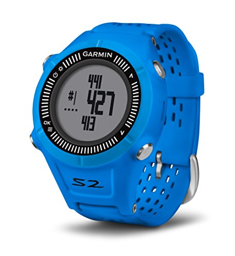 Garmin Approach S2 GPS Golf Watch – Blue/Black